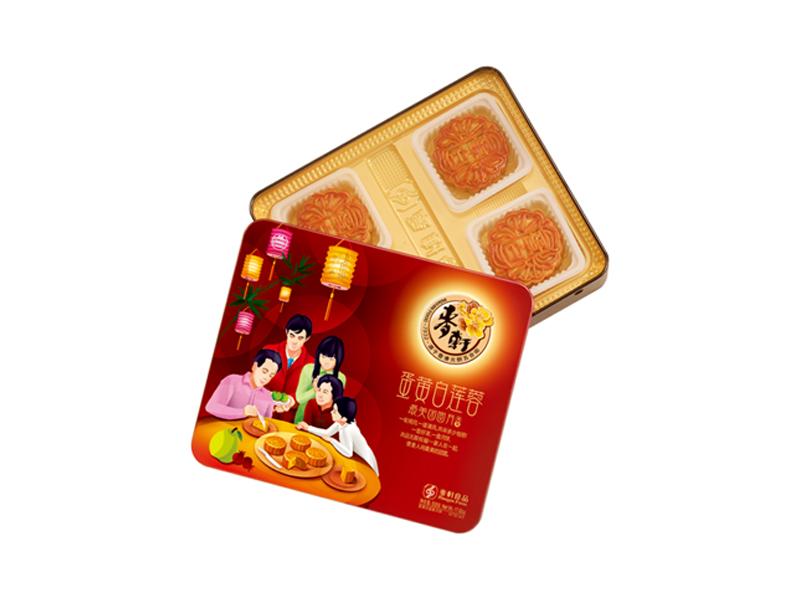 麦轩月饼-蛋黄白莲蓉508g