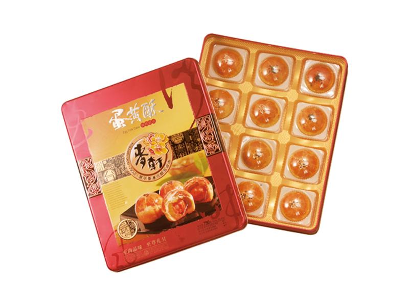麦轩月饼-大蛋黄酥750g
