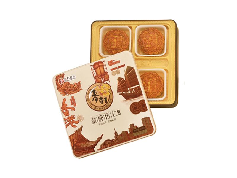 麦轩月饼-金腿五仁750g